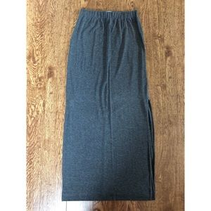Madewell Knit Maxi Skirt with Side Slits